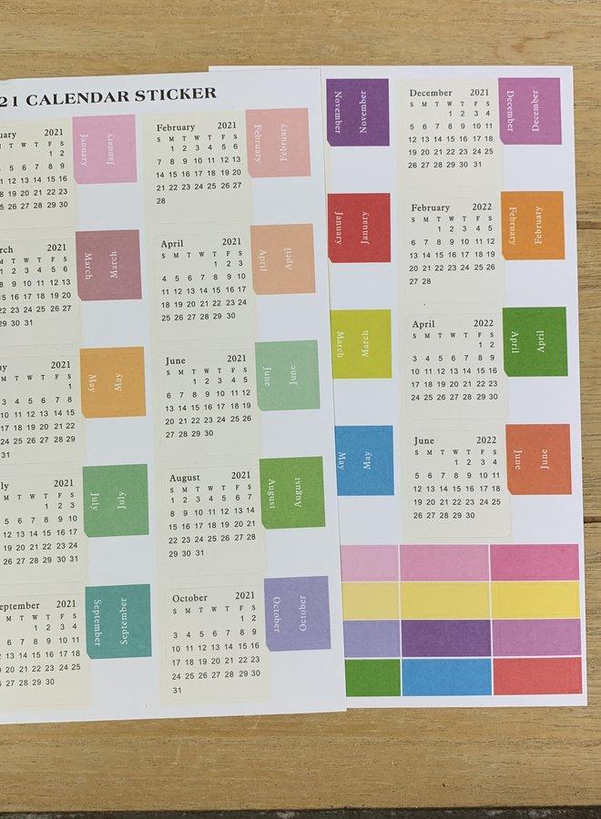 Stickers | Kalender 2021