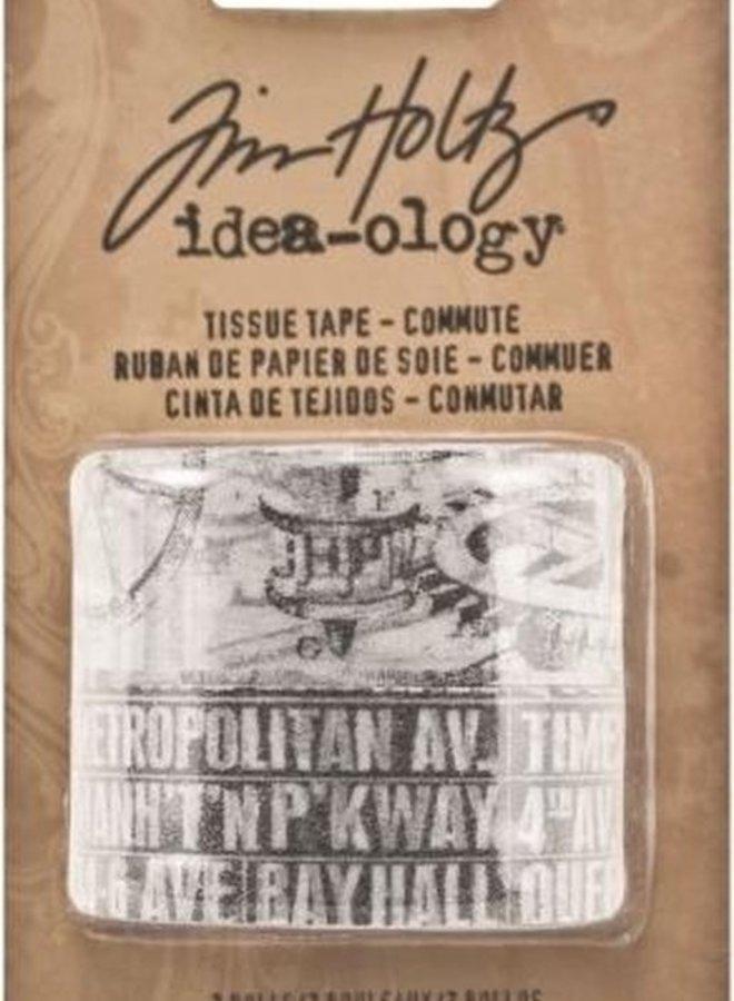 Washi tape | Tim Holtz tissue - commute