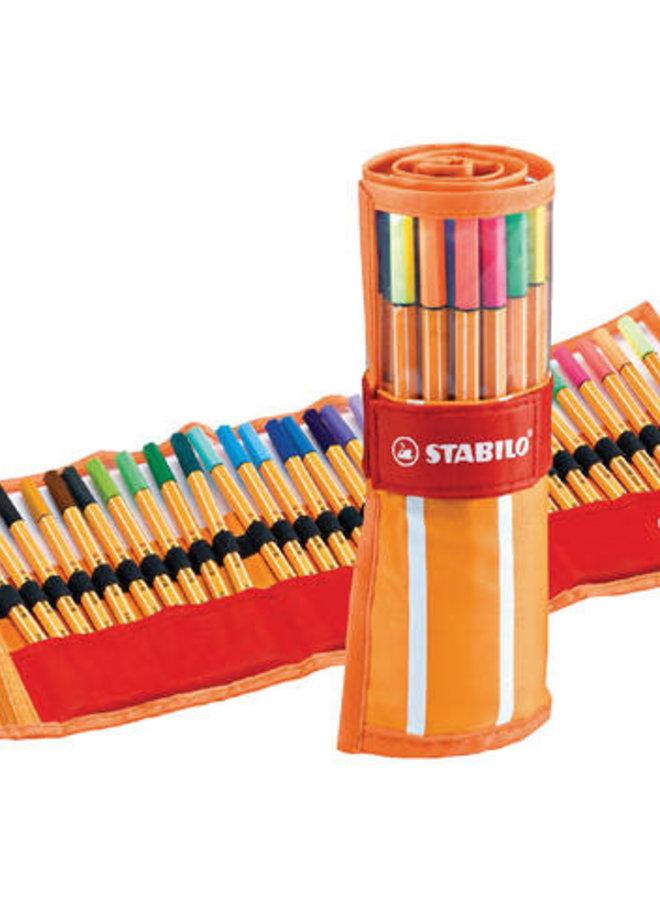 Stabilo | 30 kleur fineliners - Set