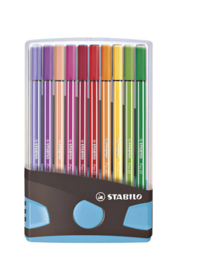 Stabilo | 20 kleuren stiften - Set