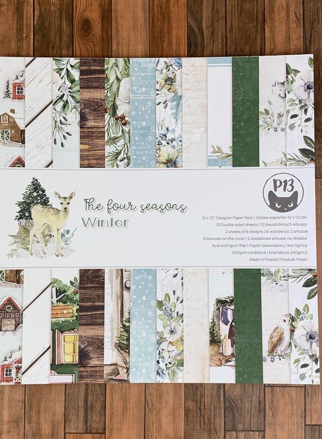 P13 | four seasons winter 12 x 12