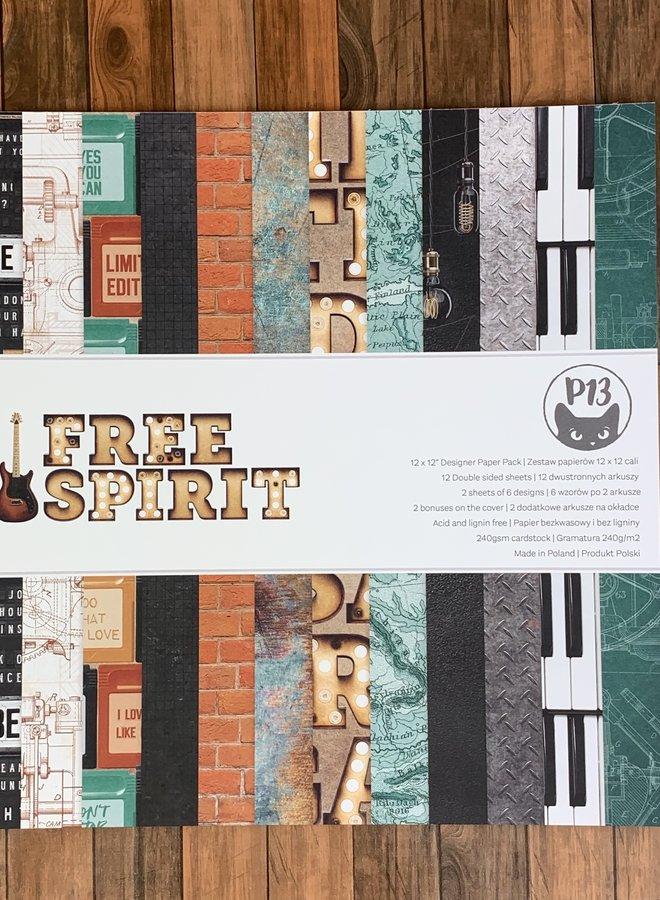 P13 | Free spirit 12x12