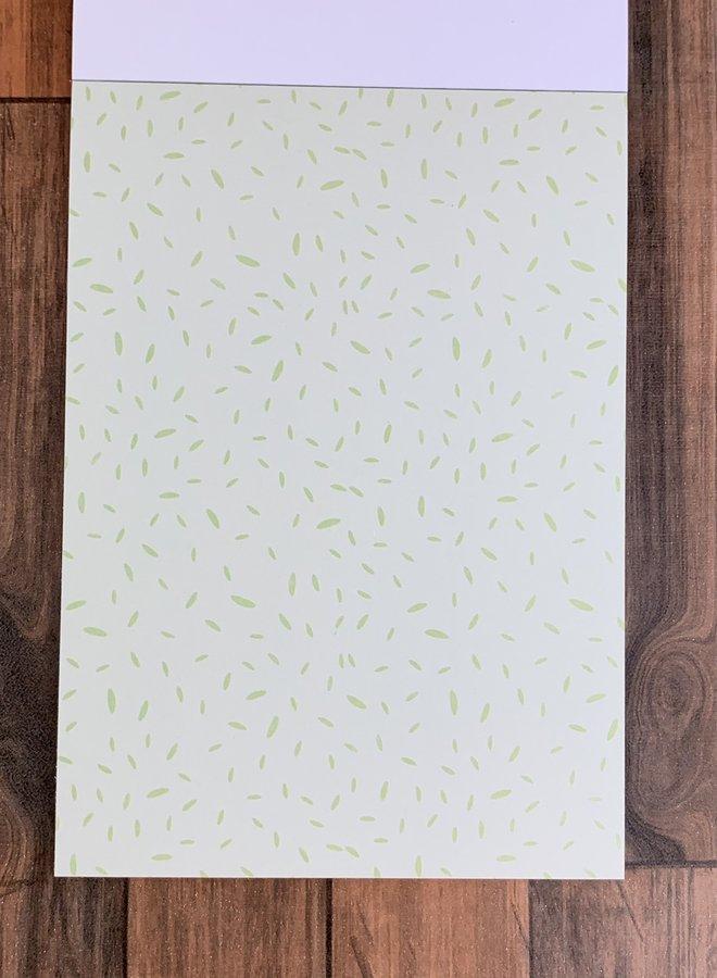 Studio light I Mini paper pad pastel