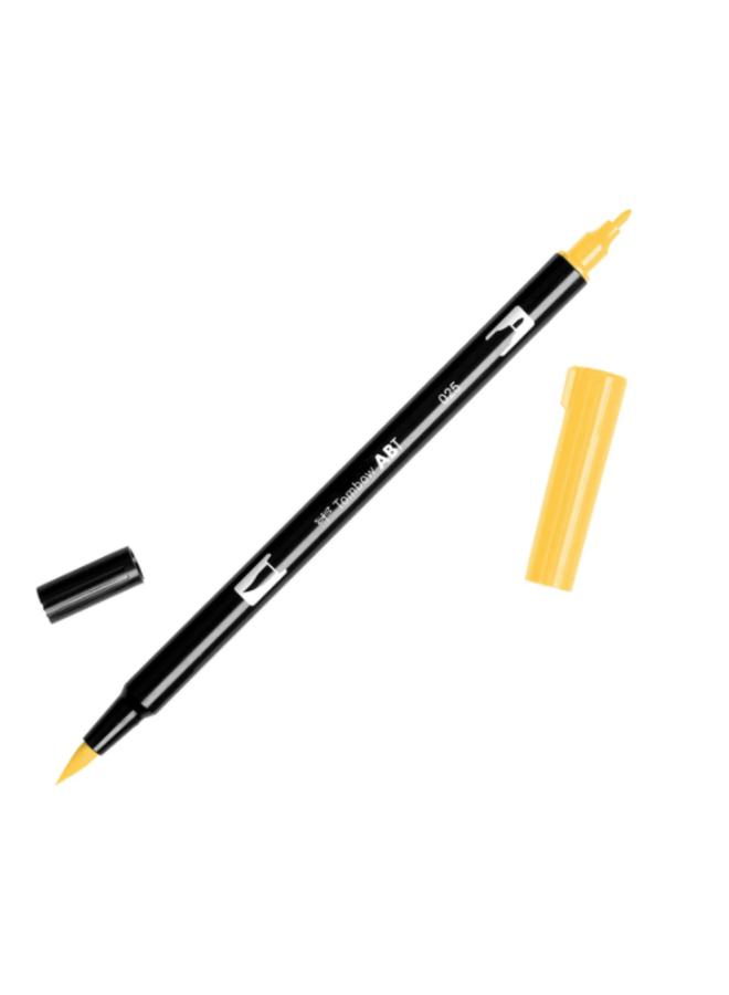 Tombow | Dual Brush Pen - 025 geel