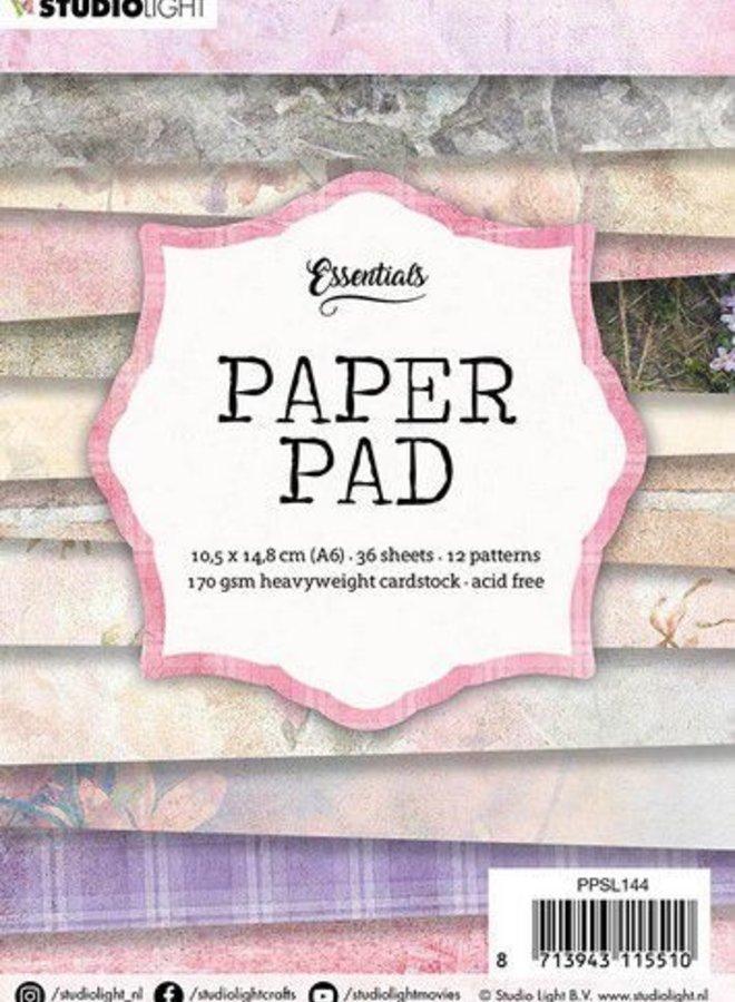 Studio light I Mini paper pad vintage