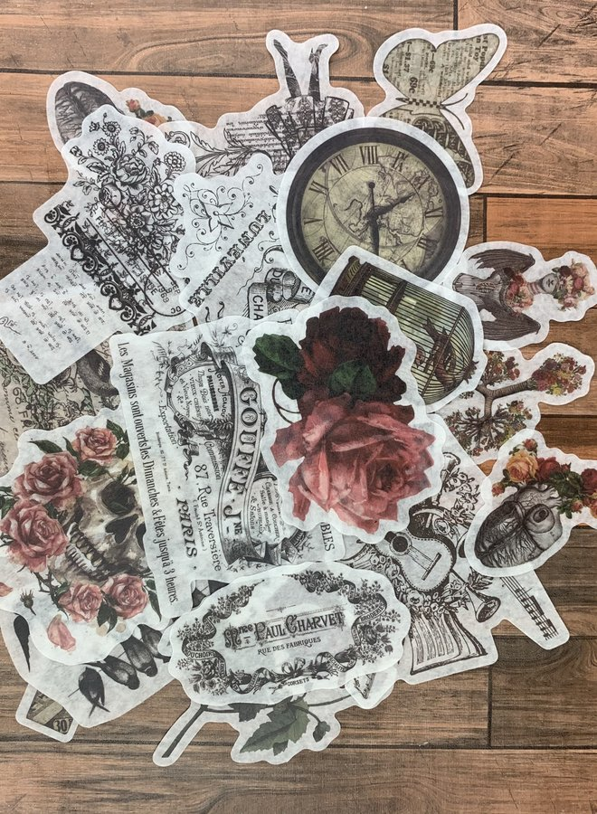 Stickers | Vintage rozes