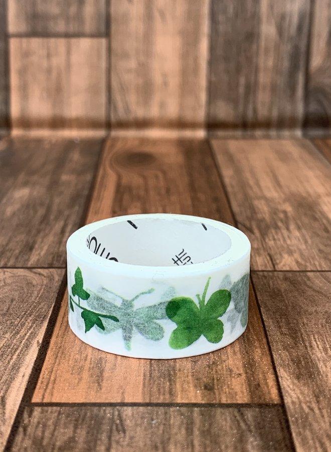 Washi tape l Groene vlinders