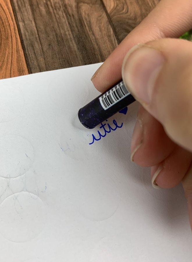 Pen | Zodiac sign Scorpio - uitwisbaar