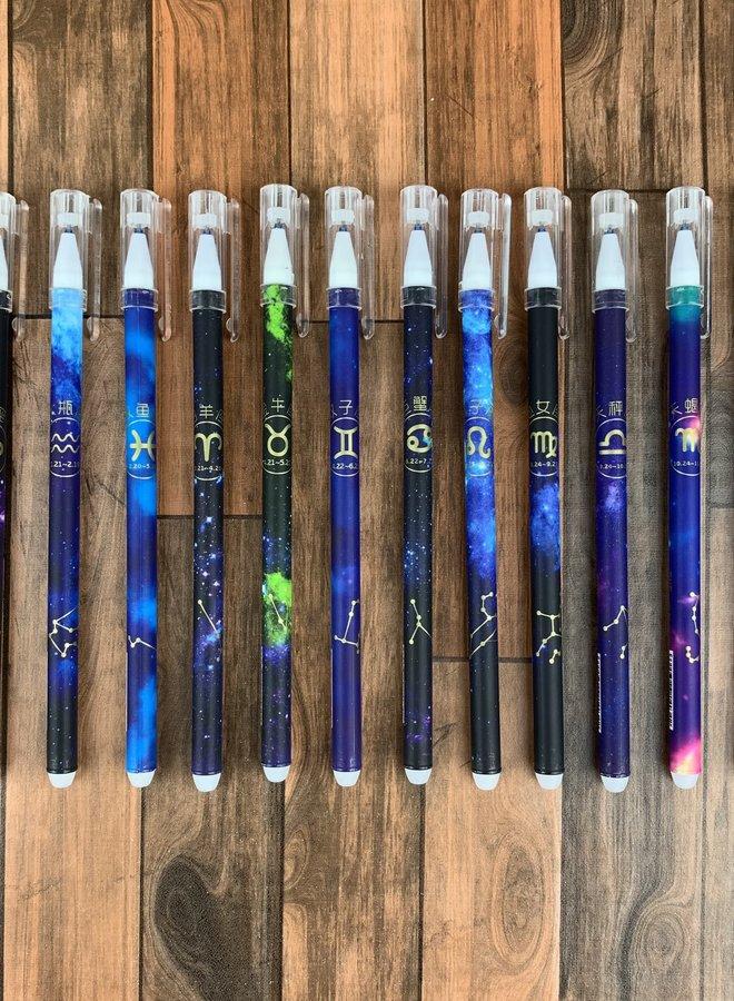 Pen | Zodiac sign Pisces - uitwisbaar