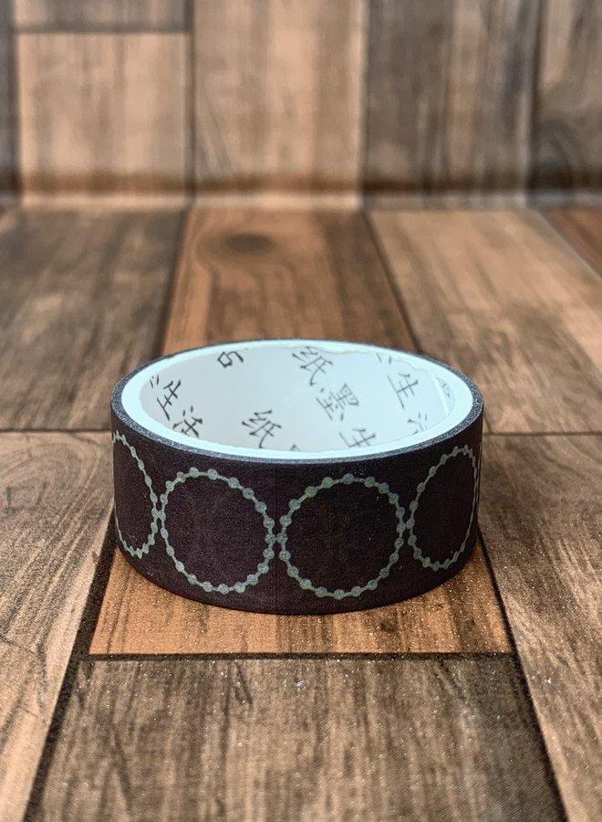 Washi tape l Bruin circle