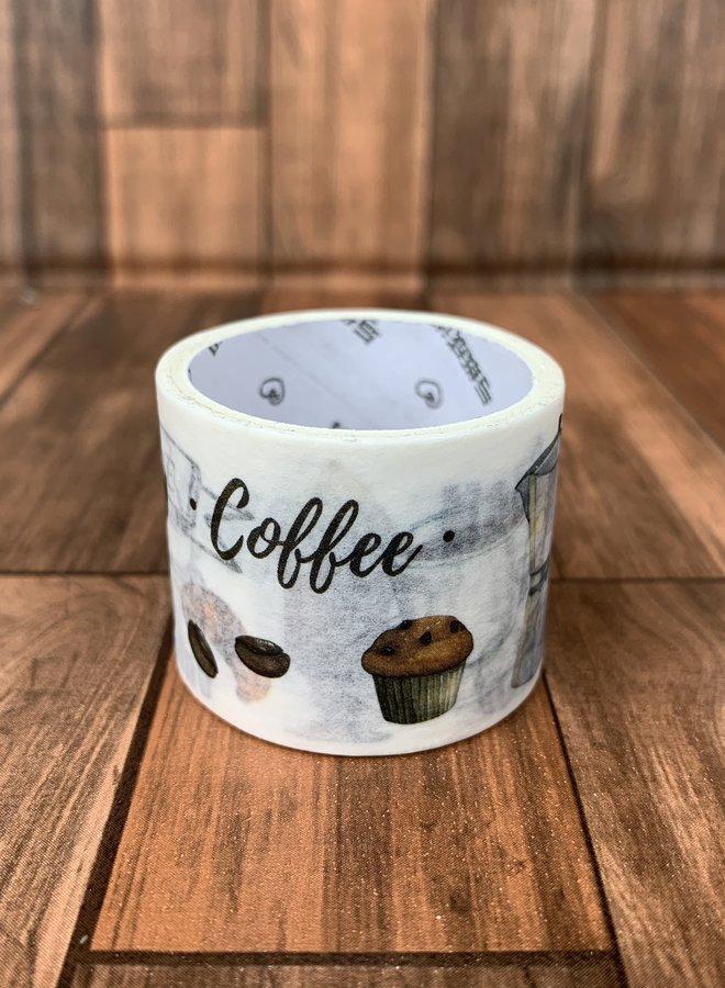 Washi tape   Coffee - Breed