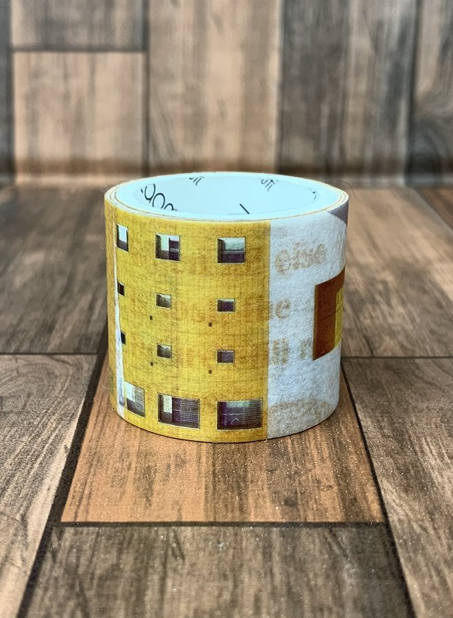 Washi tape l Abstract geel