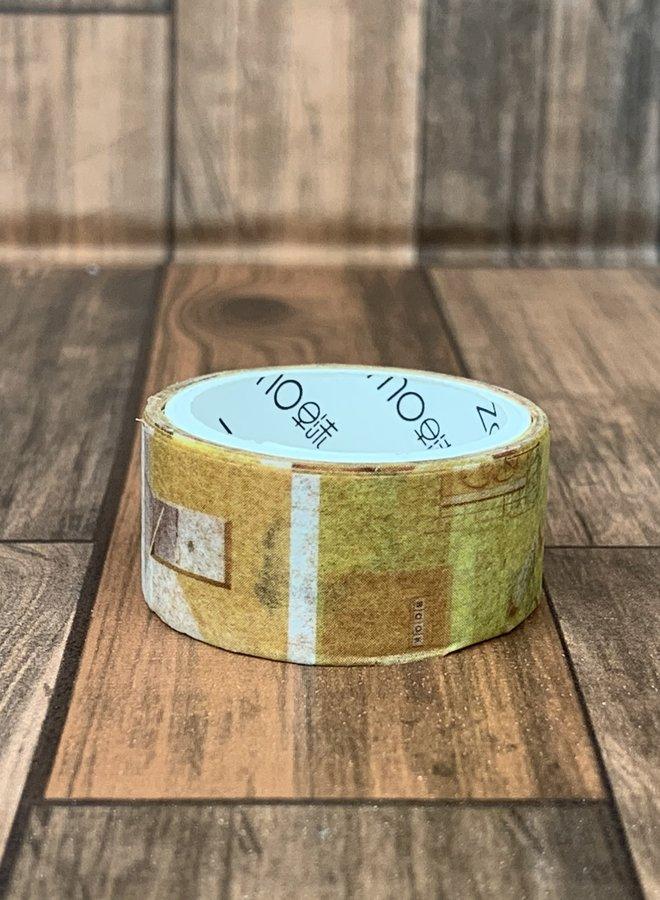 Washi tape | Kleine gele foto's