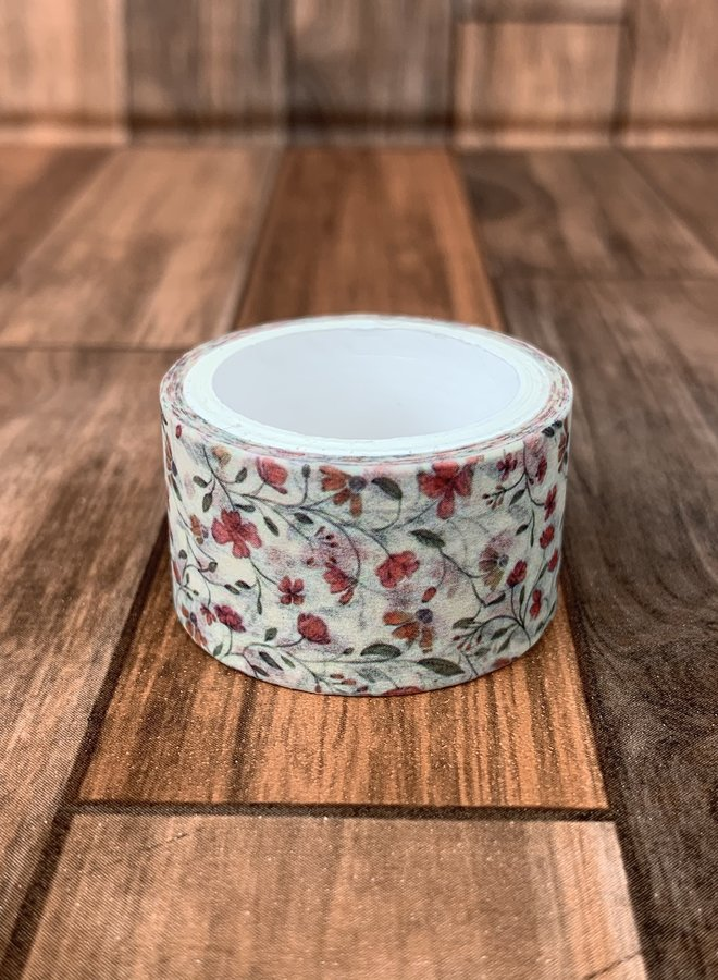 Washi tape | Red flowers - Breed