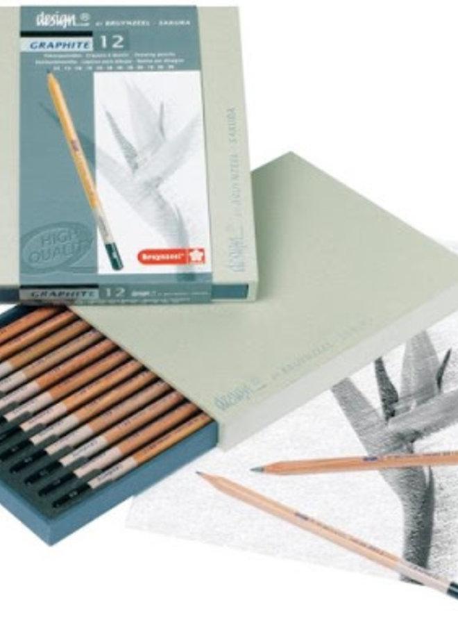 Bruynzeel | Design grafiet potloden box