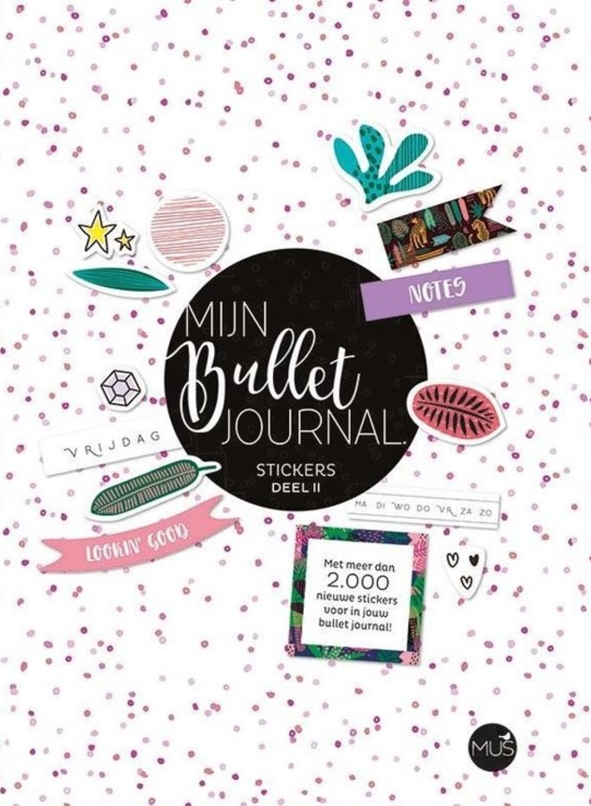 Mijn Bullet Journal | stickerboek deel 2