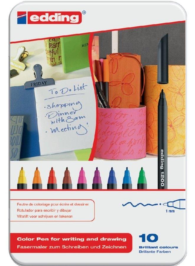 Edding | 10 brilliant colour pens