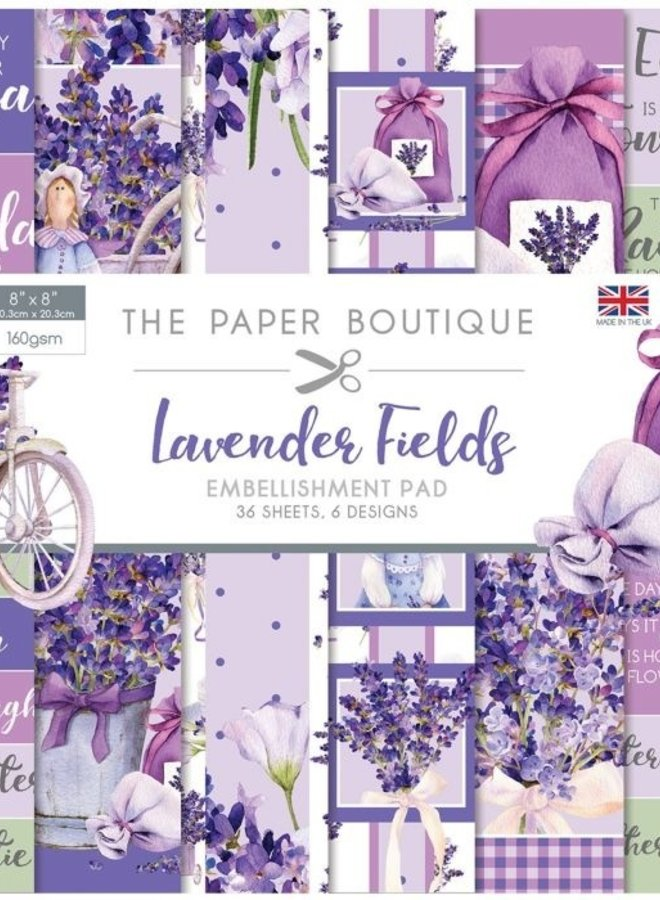 The Paper Boutique | Lavender Fields