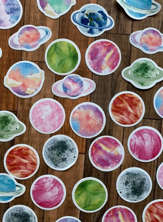 Stickers | Planets space