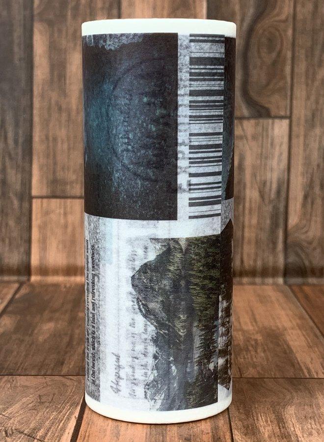 Washi tape I Travel the world - Breed