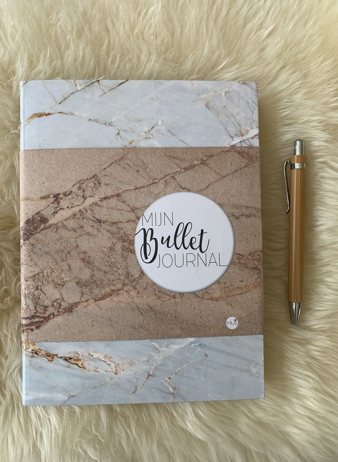 Mijn Bullet Journal | Marmer