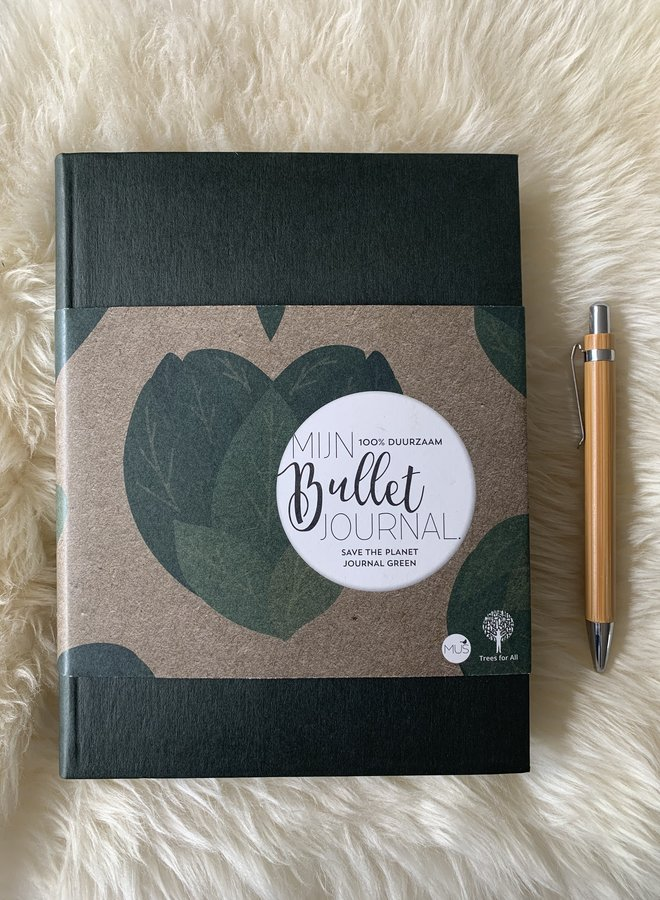 Mijn Bullet Journal | Paperback Green