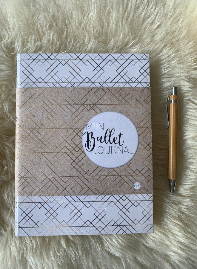 Mijn Bullet Journal | Wit goud
