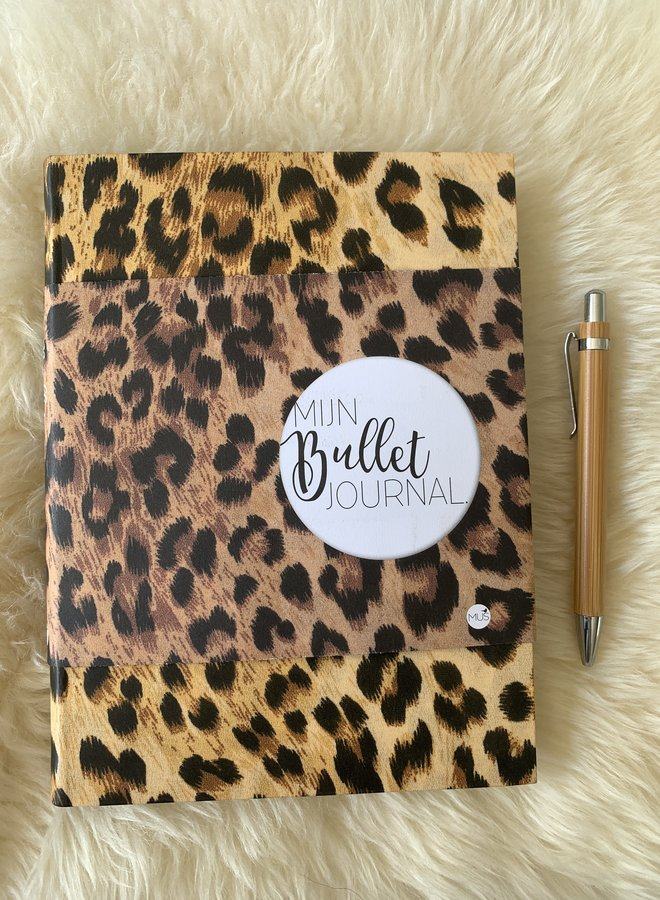 Mijn Bullet Journal | Luipaardprint