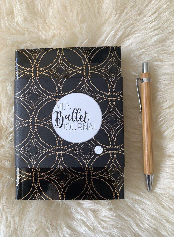Mijn Bullet Journal Pocket   Zwart goud