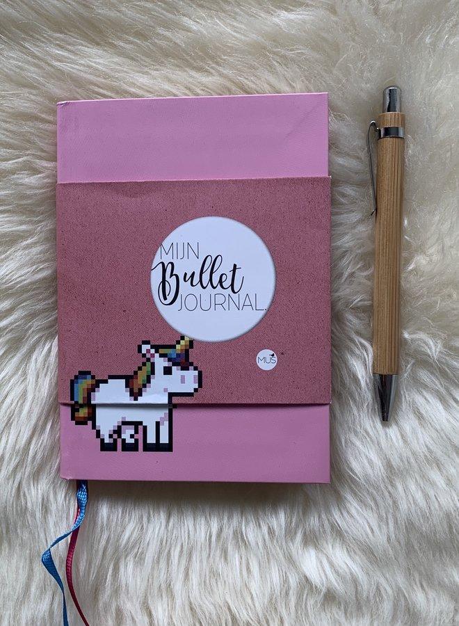 Mijn bullet journal Pocket   Eenhoorn - Nicole Neven