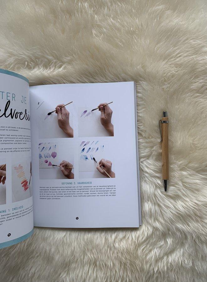 Forte creatief | Bloemen aquarelleren - Marie Boudon