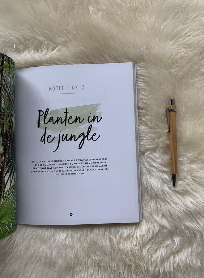 Forte creatief | Jungle in aquarel - Marie Boudon
