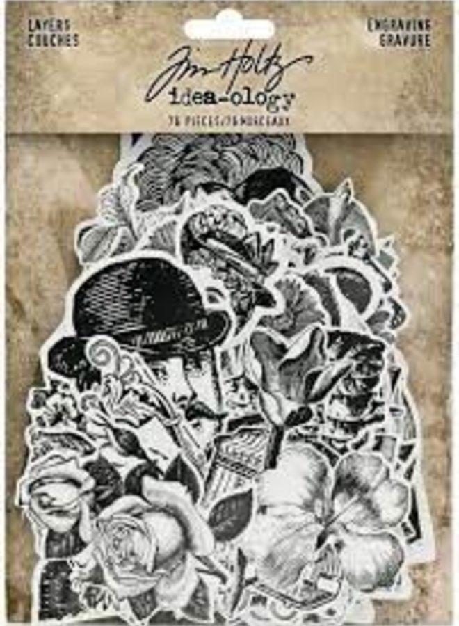 Tim Holtz | Idea-ology - Engraving gravure