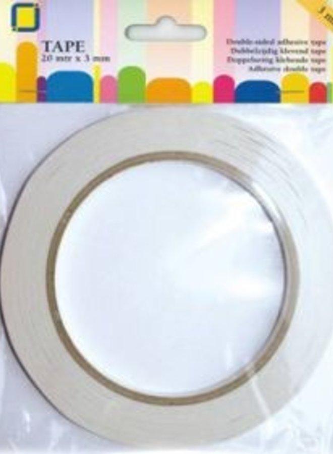 Jeje produkt | Dubbelzijdige tape 3mm