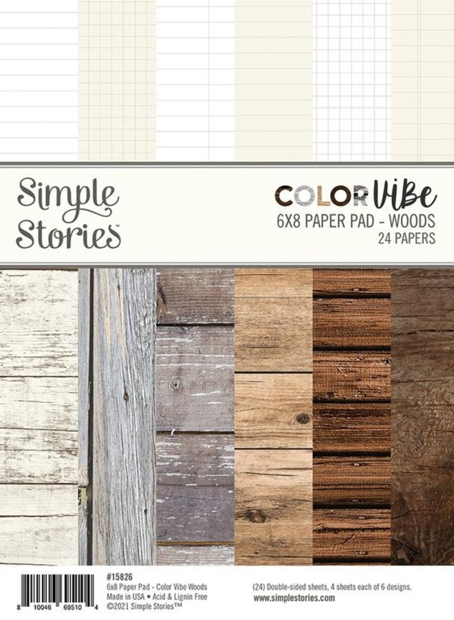 Simple Stories | Color vibe - Woods