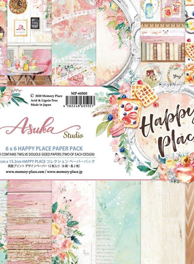 Asuka studio   Happy place paper pack