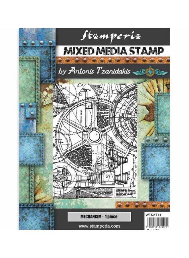 Stamperia   Mechanism rubber stempel- A5