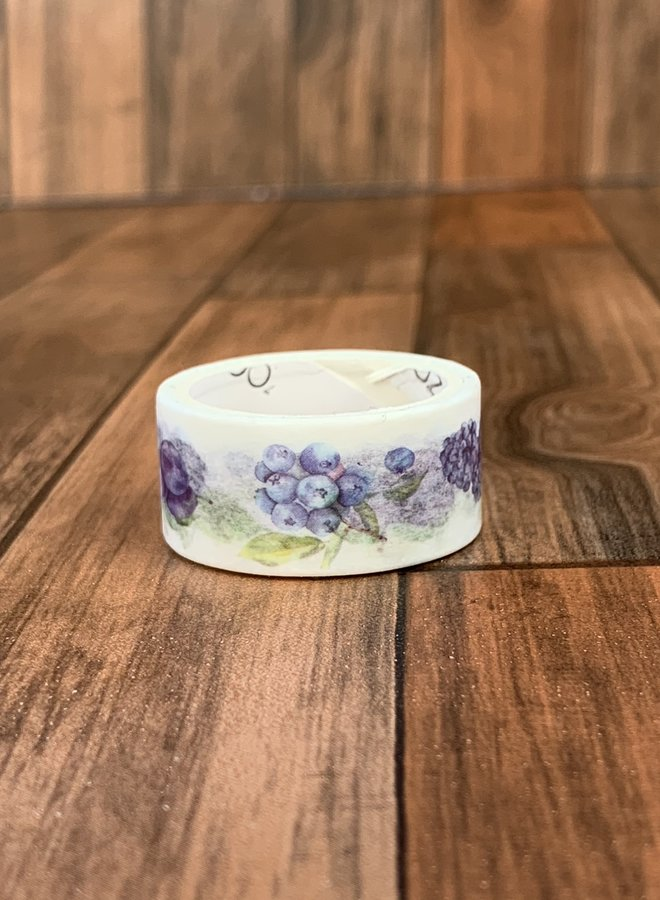 Washi tape | Paarse druiven