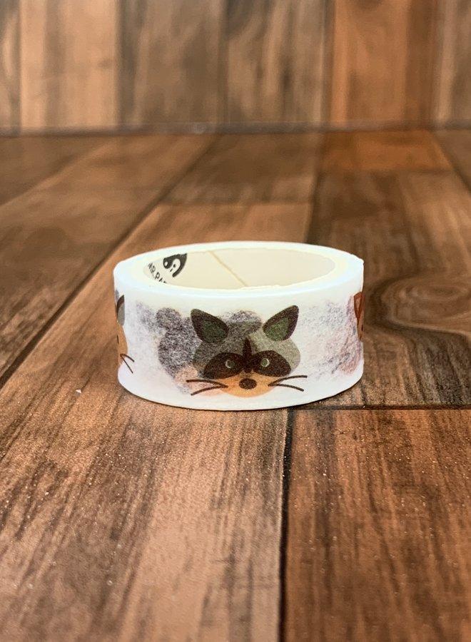 Washi tape | Schattige diertjes