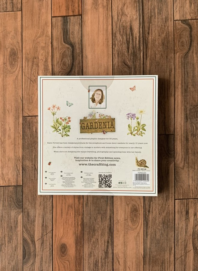 The craft blog   Gardenia - paper pad
