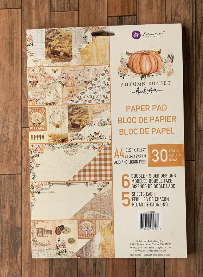 Prima | Autumn sunset - Paper pad