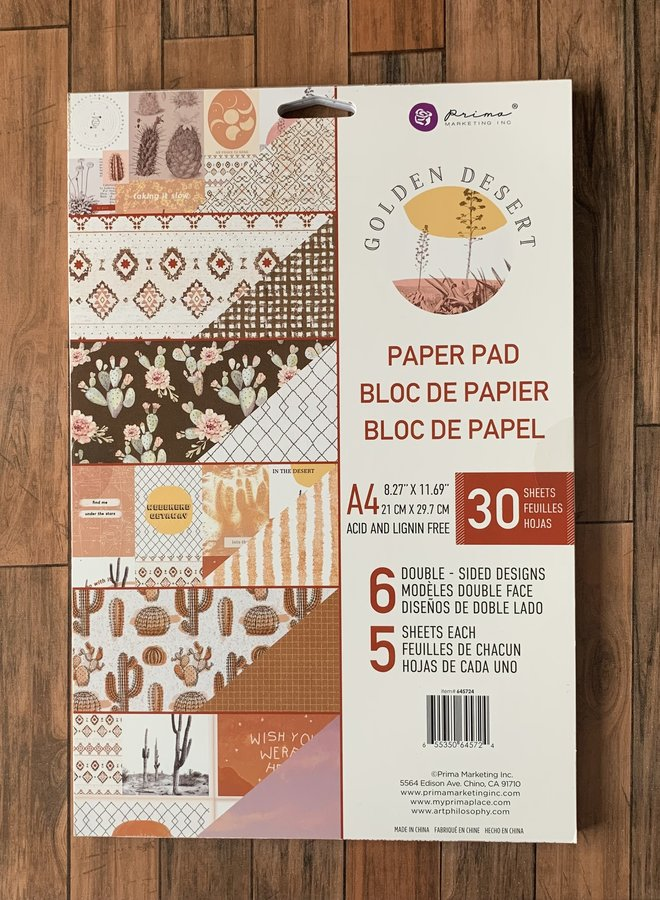 Prima   Golden sunset- Paper pad