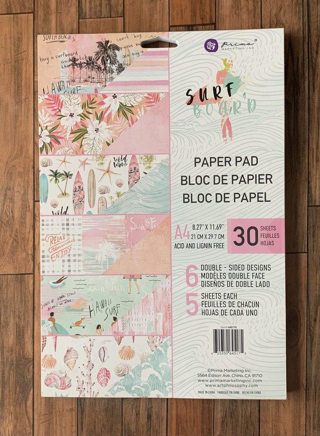 Prima   Surf board- Paper pad