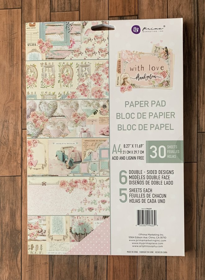 Prima  With love - Paper pad