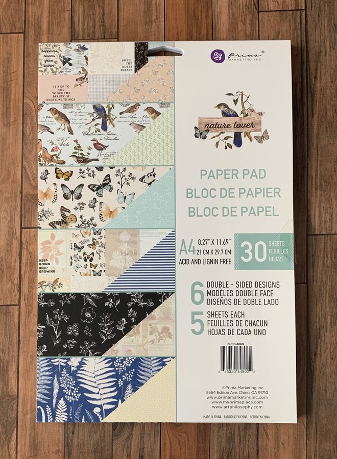 Prima  Nature lover - Paper pad