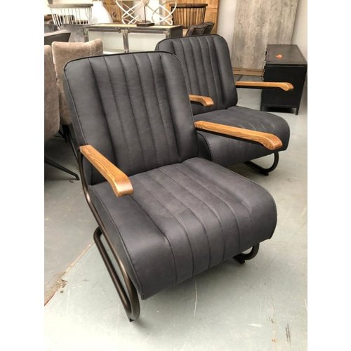 Fauteuil BMW antraciet