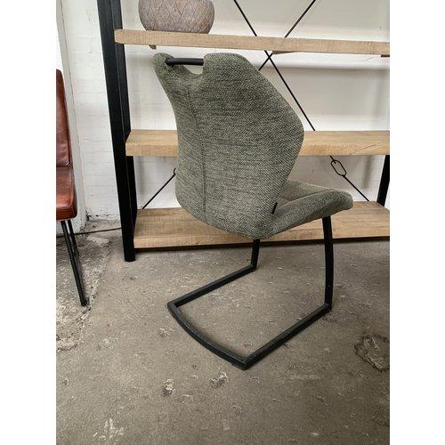 6 stoelen Riva groen