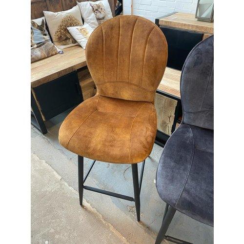 Barstoelen velvet - 3 kleuren
