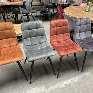 Eetstoel LAB70 - 4 kleuren velours