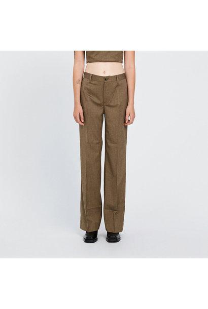 Kelis Trousers - Brown Melange